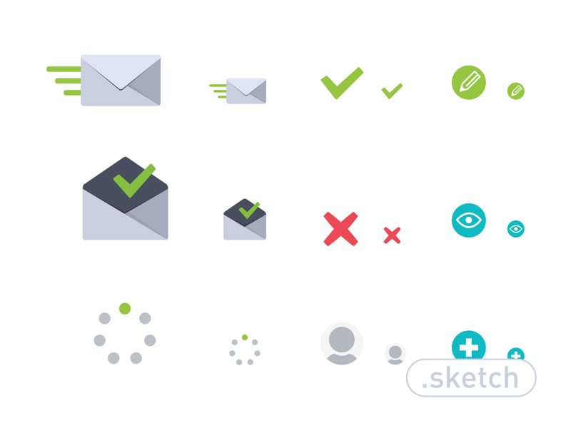 Raven's Icon Set by Pelin Kenez in 38 Fresh and Modern Icon Sets
