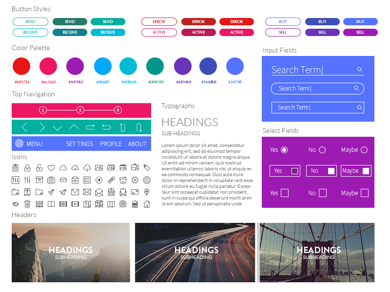 Ui Kit by KINGLY in 30+ Free UI Kits for Web Designers