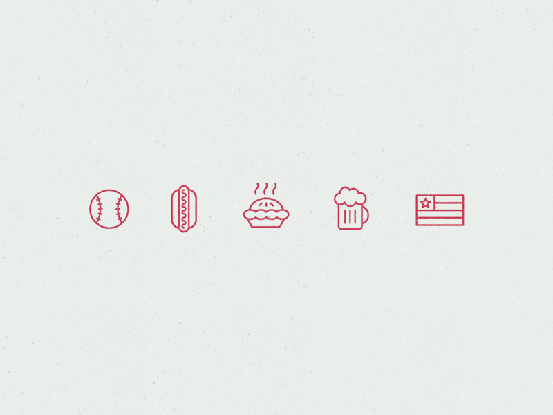 Mericana free icon set by Arielle Weiler in 38 Fresh and Modern Icon Sets