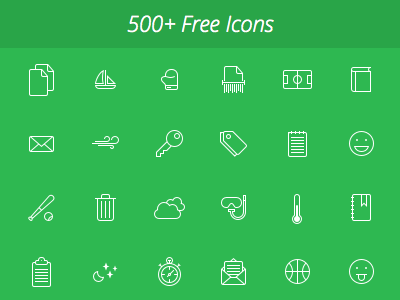 Hawcons by Yannick Lung in 38 Fresh and Modern Icon Sets