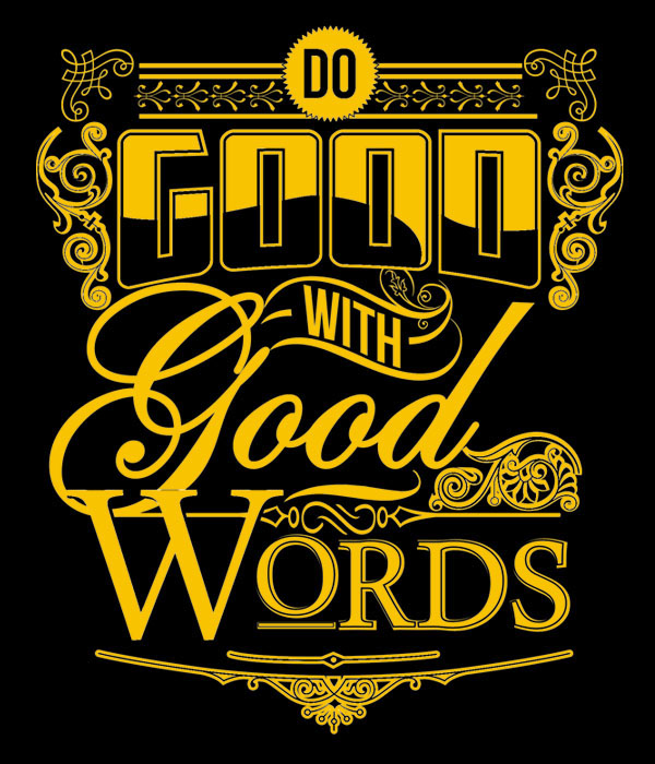 Typography Tees by Endang Hidayat in 60+ Examples of Creative Typography