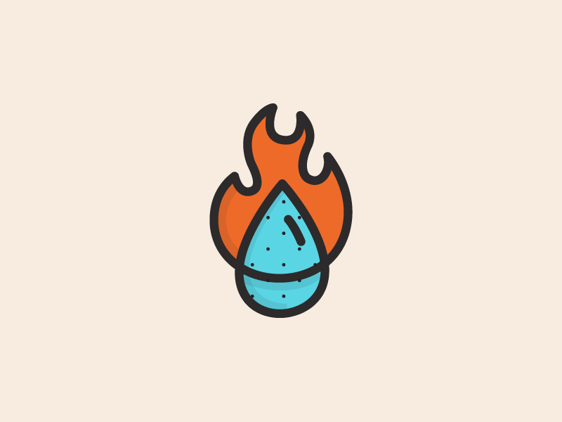 ">Fire And Water Mark by Andrew Berkemeyer in 25个能给你带来灵感的扁平化LOGO设计欣赏"" /></a></p><br /> <h4><a href="