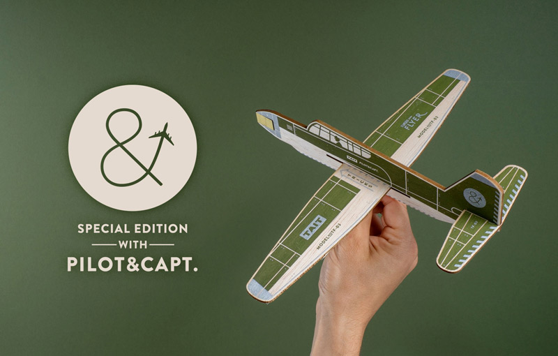 Turbo Flyer by Tait Design Co. + Pilot & Captain in2014年8月最新的包装设计灵感欣赏