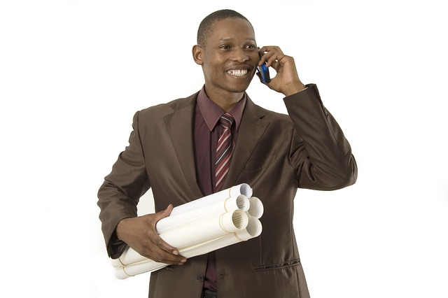 stock image of a random business guy