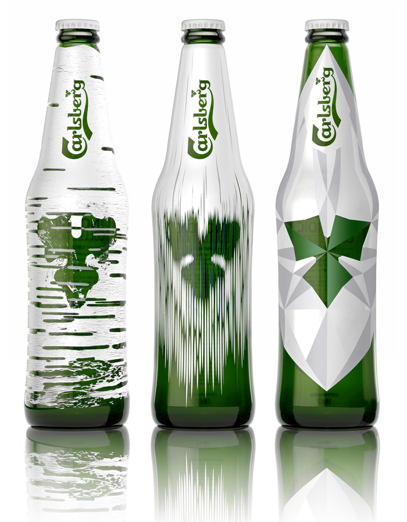 Carlsberg's Limited Edition: The Nordic Collection in2014年8月最新的包装设计灵感欣赏