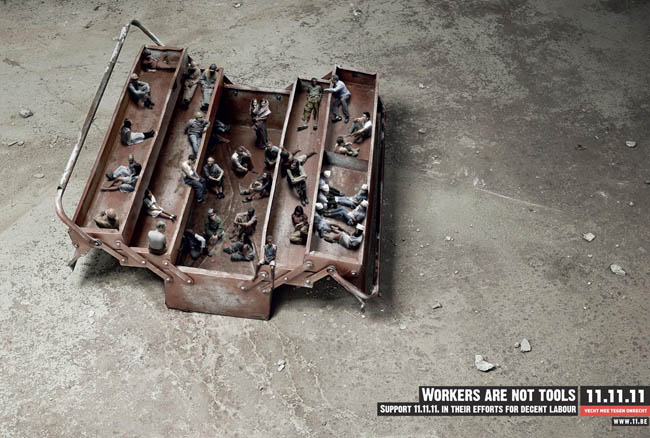 Workers are not tools.