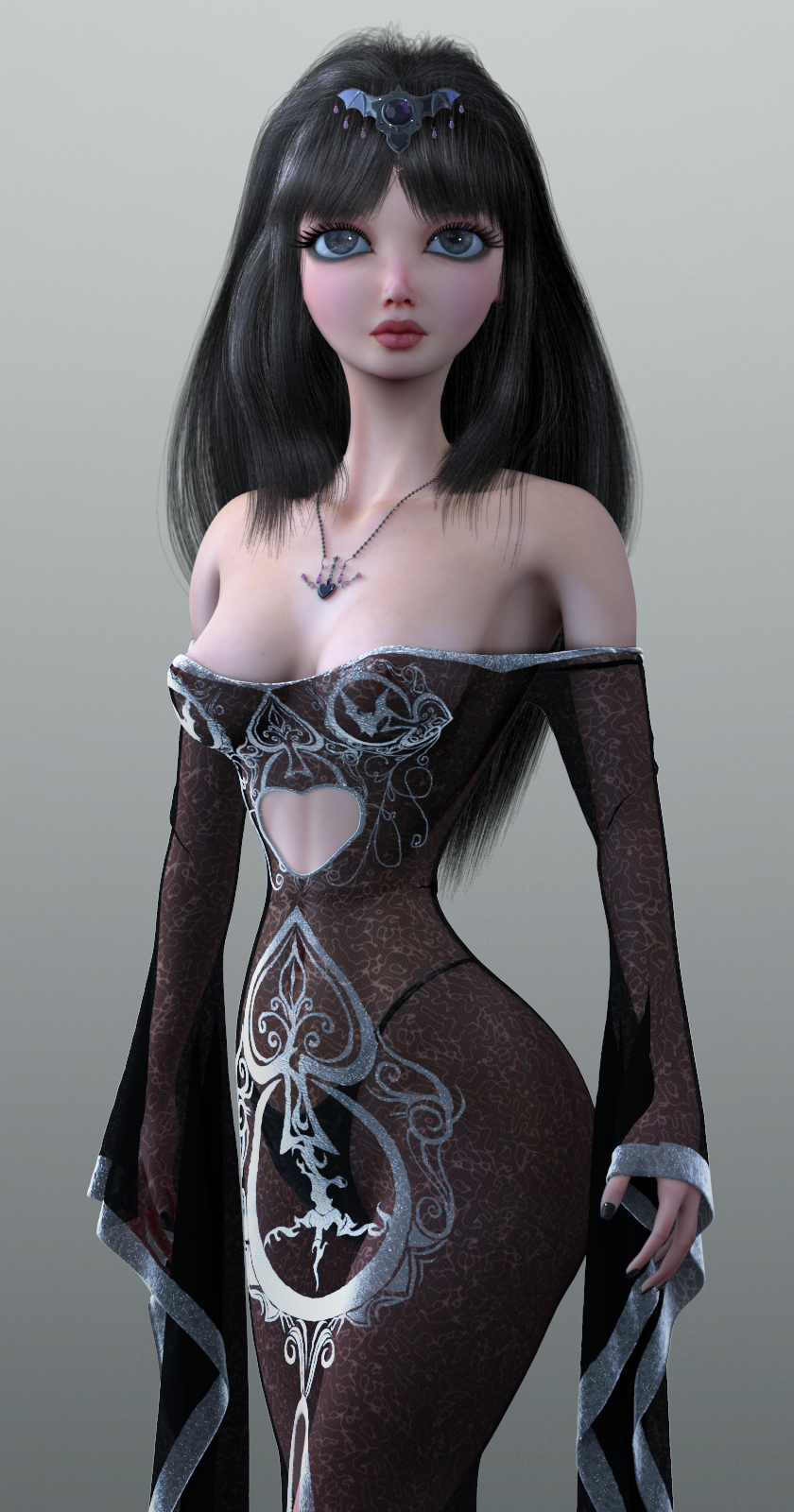Vampiress doll 3d by Nauman Khan in 2014年9月的35个漂亮的CG女孩