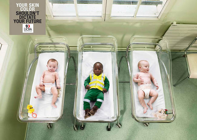 Social Issue Ads - Your Skin Color Shouldn't Dictate Your Future