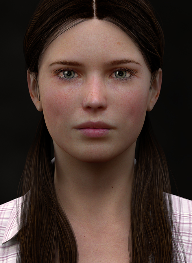 Sarah (Take 2) by Adam Potter in 2014年9月的35个漂亮的CG女孩