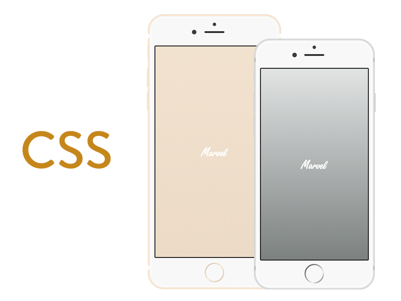 iPhone 6 and 6 Plus in CSS by Murat Mutlu in 35个新鲜的iPhone6展示模型PSD下载