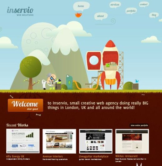Inservio Web Solution