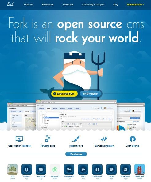 Fork – The Open Source CMS