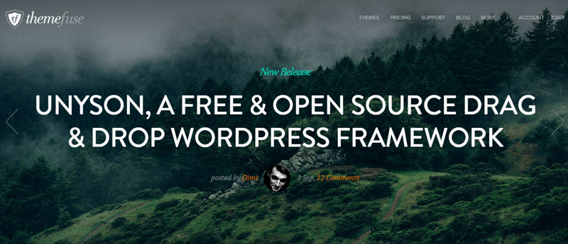 Unyson in Fresh Toolbox for Web Developers – October 2014