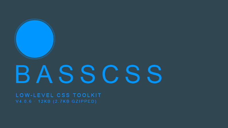 Basscss in Fresh Toolbox for Web Developers – October 2014