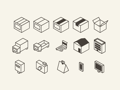 Flat 3D icon set for download by Erika Ito in 23个免费的扁平化图标下载(带IOS8图标)