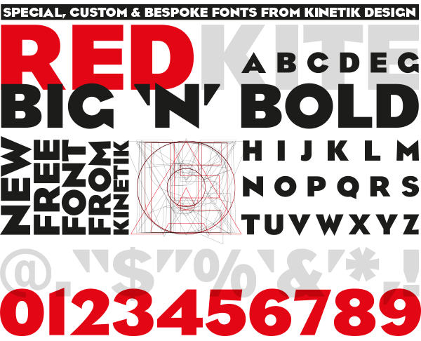 Bespoke Free Font by Kevin Simpson in 2014年10月的20套新鲜字体下载