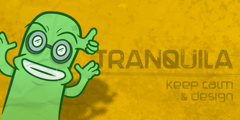 Tranquila by MuraKnockout Media + Design  in 20个2014年10月整理的最新时尚设计字体下载