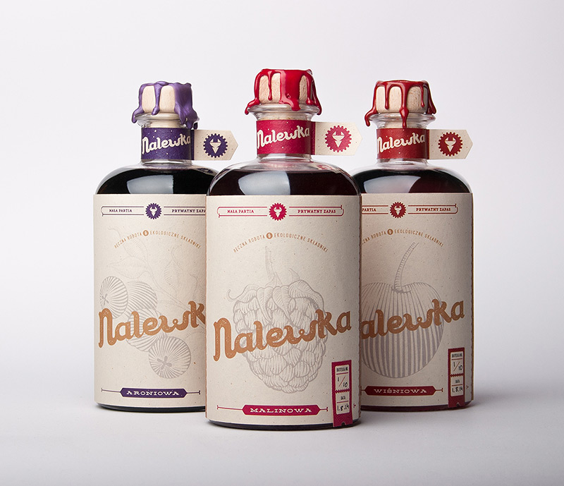 Nalewka by Foxtrot Studio in Package Design Inspiration for December 2014