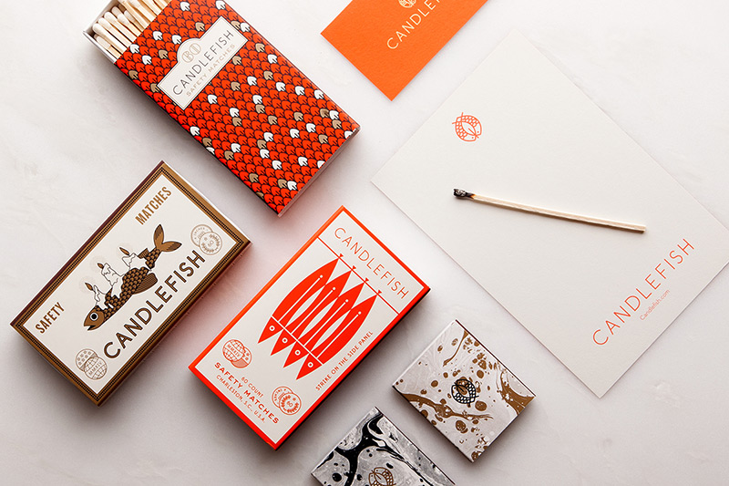 Candlefish by Fuzzco in Package Design Inspiration for December 2014