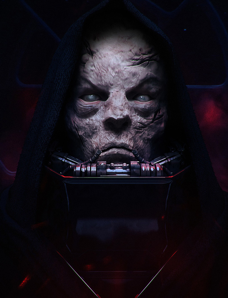 Vader the Emperor by Maciej Drabik in 2015年2月最新最炫的3D角色设定设计效果欣赏