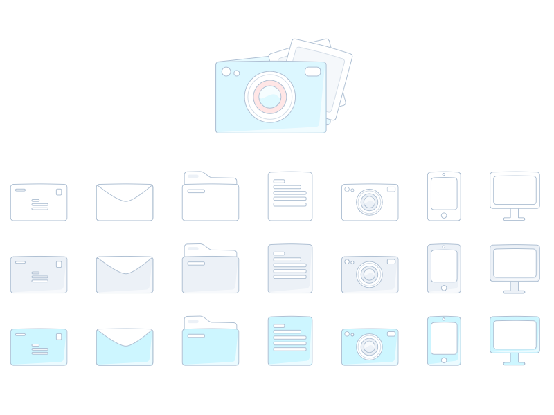 Sketch Icons Freebie by igor leygerman in 2015年3月的42套扁平化图标合集下载