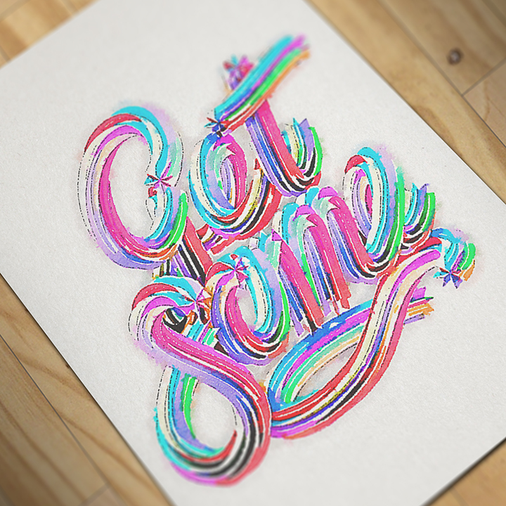 2015年5月出炉的创意字体设计合集Hand Painted Typography by Matt Corbin in 20 Examples of Creative Typography