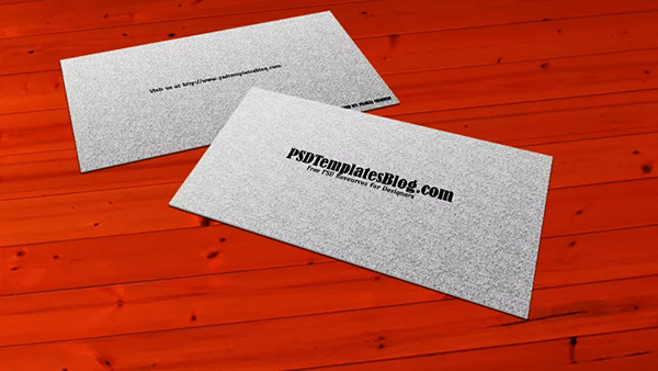 100个极品名牌设计模版展示模型PSD下载freebie-simple-business-card-mockup-template-psd