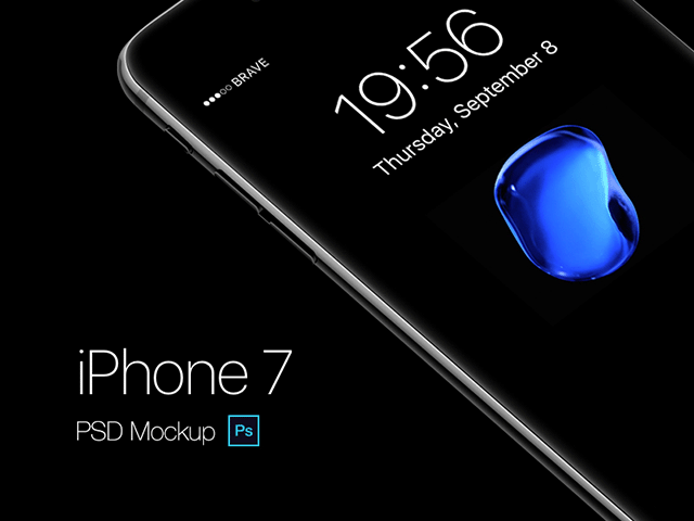 iPhone 7 & iPhone 7 Plus展示模型PSD(Mockups)合辑下载1473511386-8209-07-jetblackiphone-psd-mockup