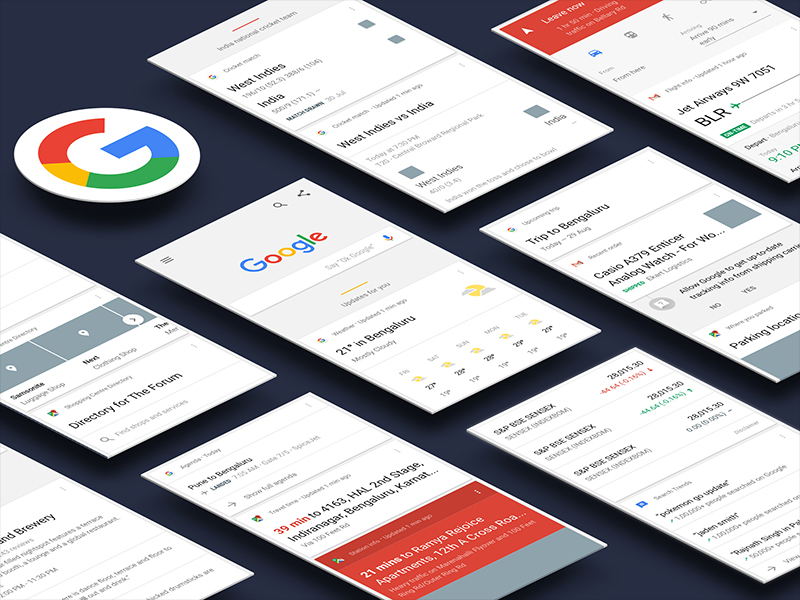 google-now-ui-kit