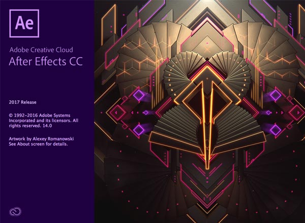 Adobe After Effects CC 2017 for Mac 下载