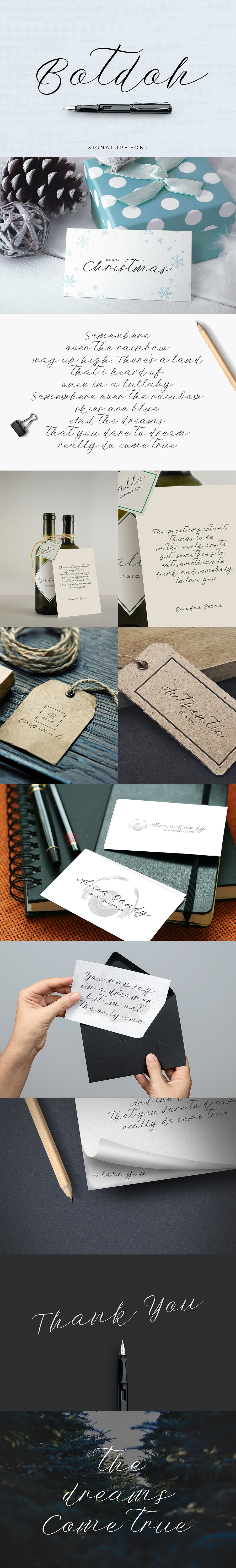 LAMY钢笔手写设计英文字体打包下载