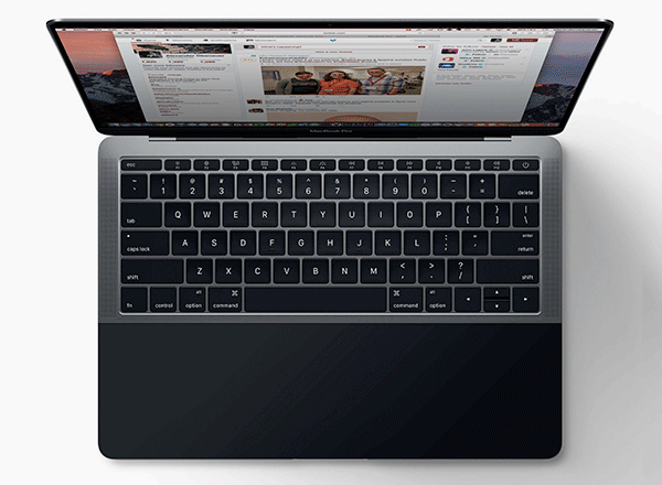 New MacBook PRO 预见性 Touchbar