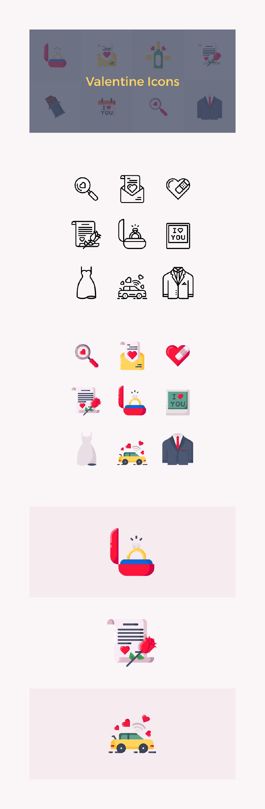 情人节特别图标下载[PNG,SVG,ICO,ICNS]