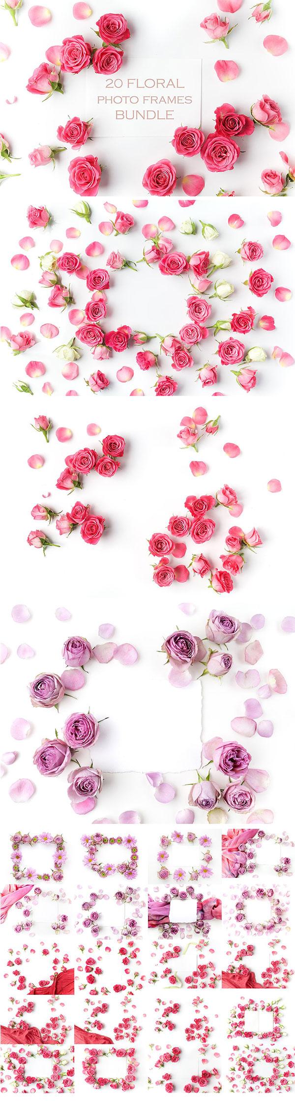 情人节必备的极品玫瑰花高清素材打包下载[高清图,广告图框架]