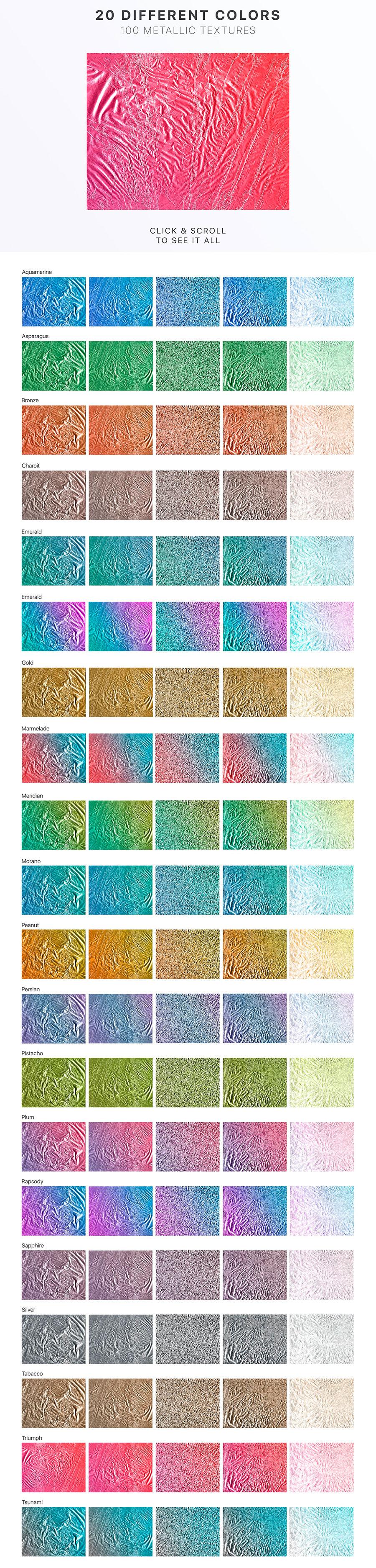 100+原始金属织构纹理