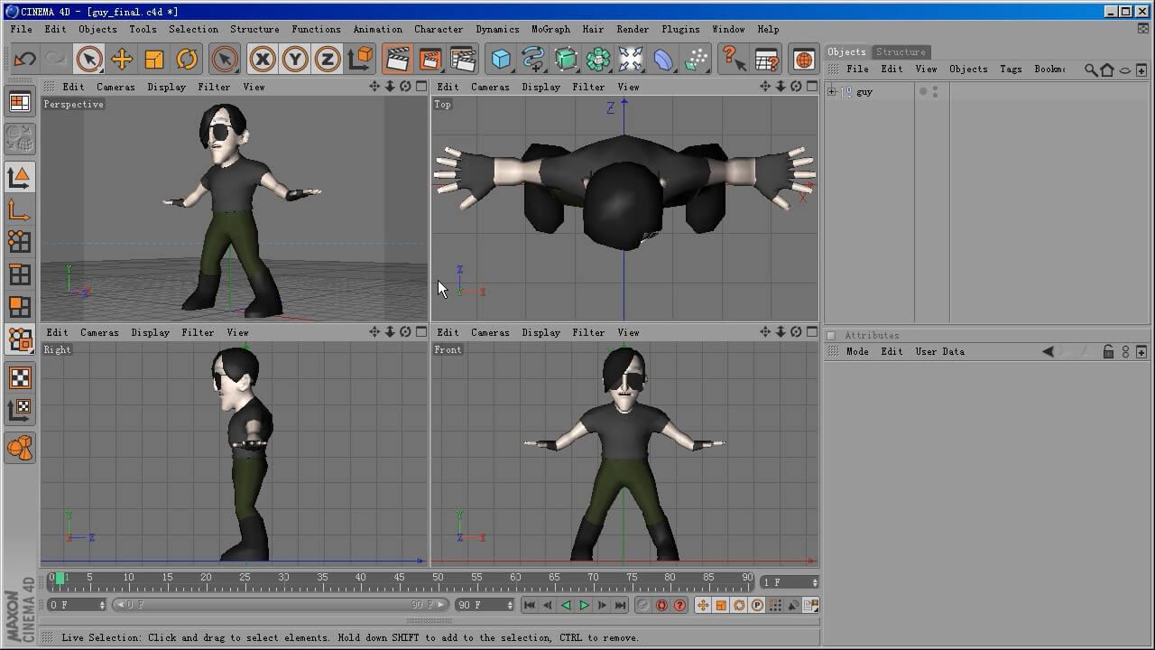 <span class='yzk_title_61103'>MAXON CINEMA 4D 完全攻略第四部 角色动画</span>