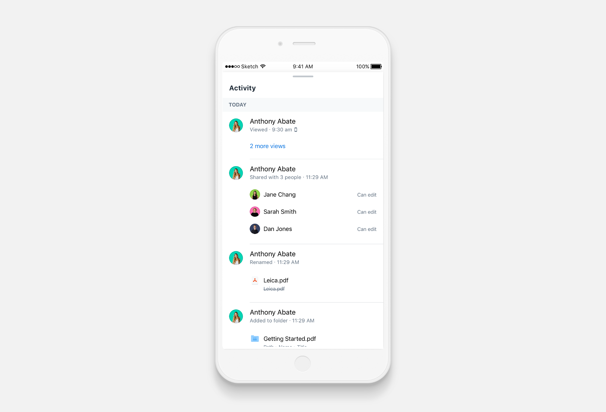 Dropbox的设计师总结的UI视觉层次设计经验