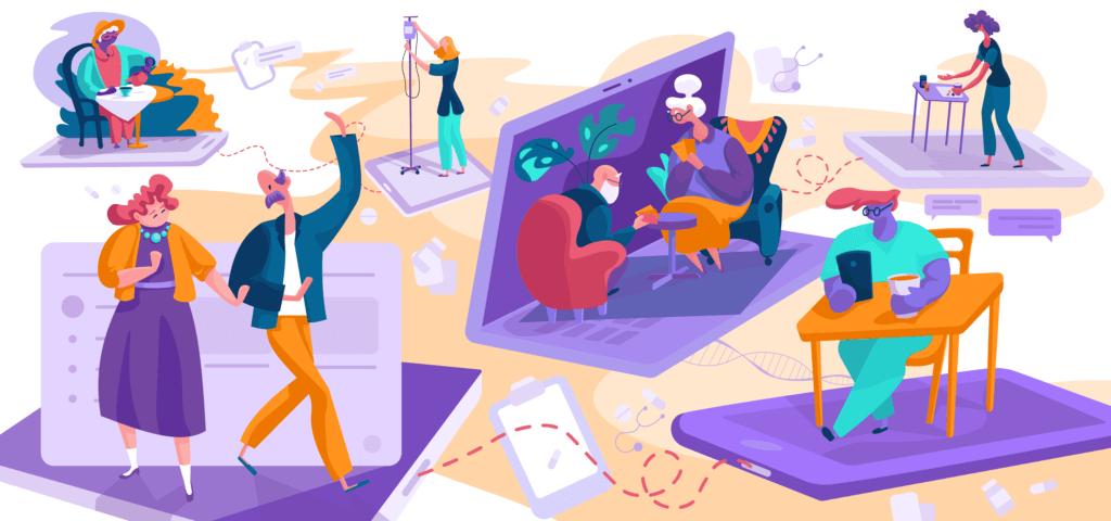 UI设计中为什么需要插画?